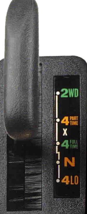 Правильное переключение раздатки Select-trac